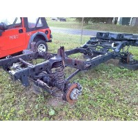 2013 Jeep Wrangler Rubicon JK 2DR Frame and Axles